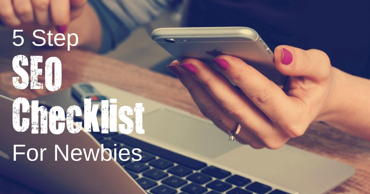 5-step-seo-checklist-for-newbies