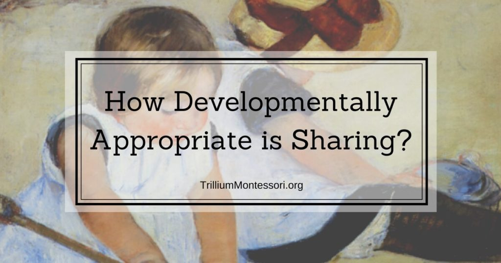 How Developmentally Appropriate is Sharing?