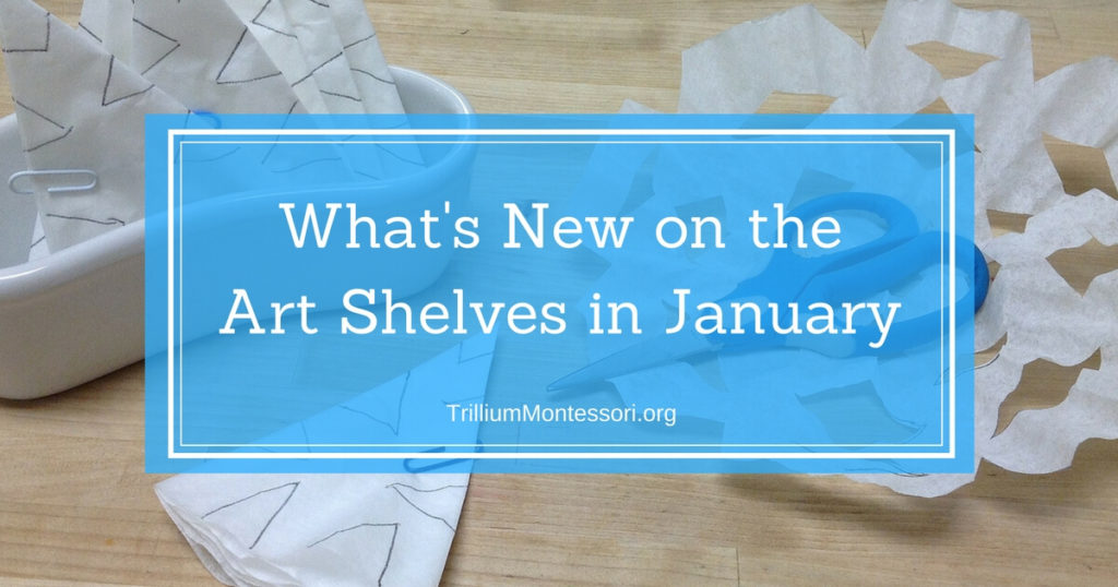 January- What's New on the Art Shelves?