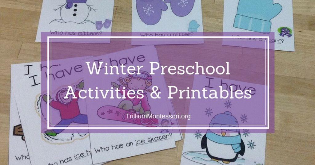 More Winter Activities!
