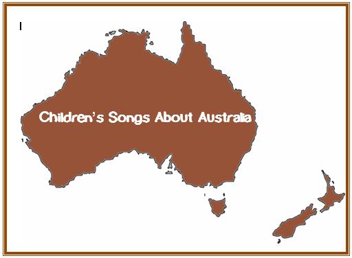 Children's Songs From Australia- Trillium Montessori