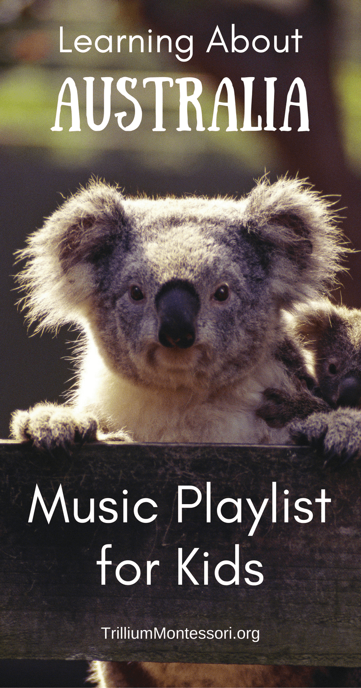 Australia Music Playlist: Children's songs about Australia