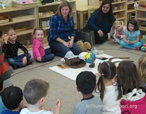 Australia presentation at Trillium Montessori