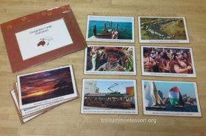 Australia Geography folder - Trillium Montessori