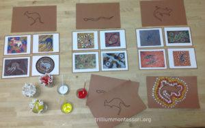 Aboriginal Art Trillium Montessori