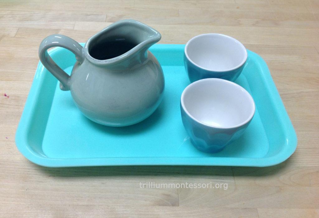Pouring 1:2 Trillium Montessori