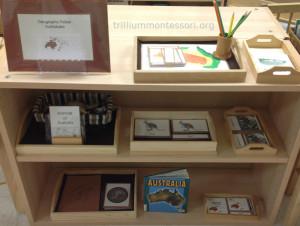 Australia Shelf- Trillium Montessori