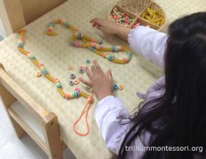 Rainbow Necklace Trillium Montessori