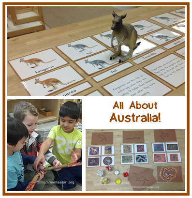 All About Australia- Trillium Montessori