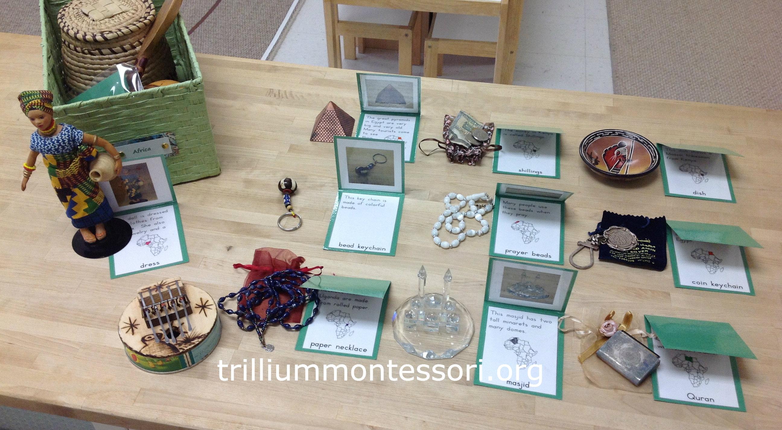 Box Culture : The continent of africa trillium montessori