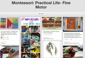 Trillium Montessori Fine Motor Pinterest Board