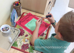 Mothers Day Card at Trillium Montessori (2)