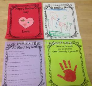 Mothers Day Card at Trillium Montessori2