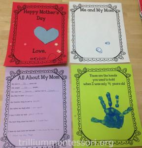 Mothers Day Card at Trillium Montessori3