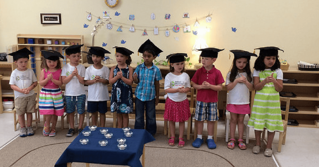 A Simple Montessori Graduation