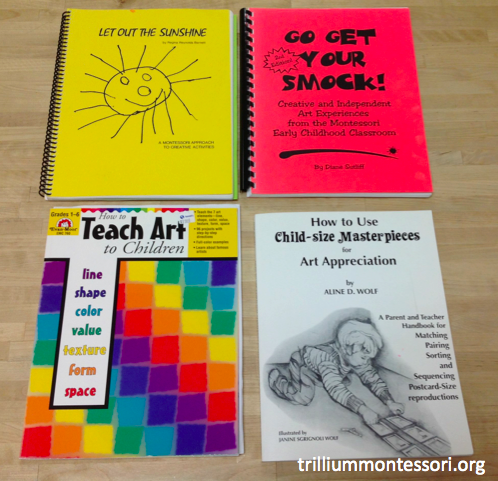 Montessori Art Books