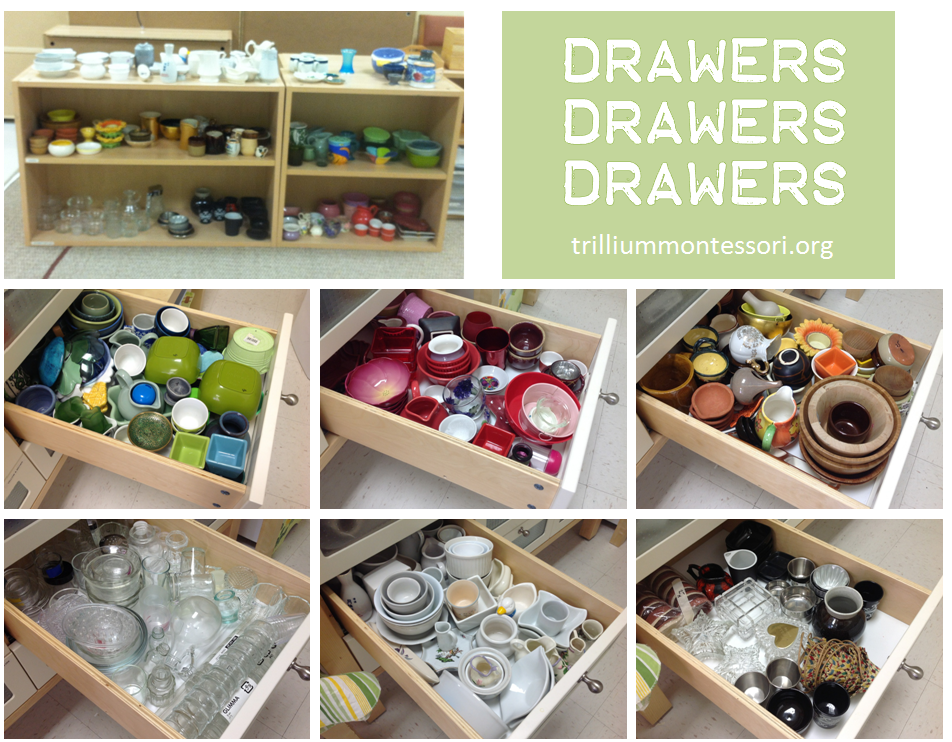 Use drawers