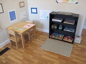 Childrens Workspace from Peaceful Parenting