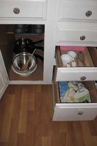 Kitchen Drawers from Peaceful Parenting
