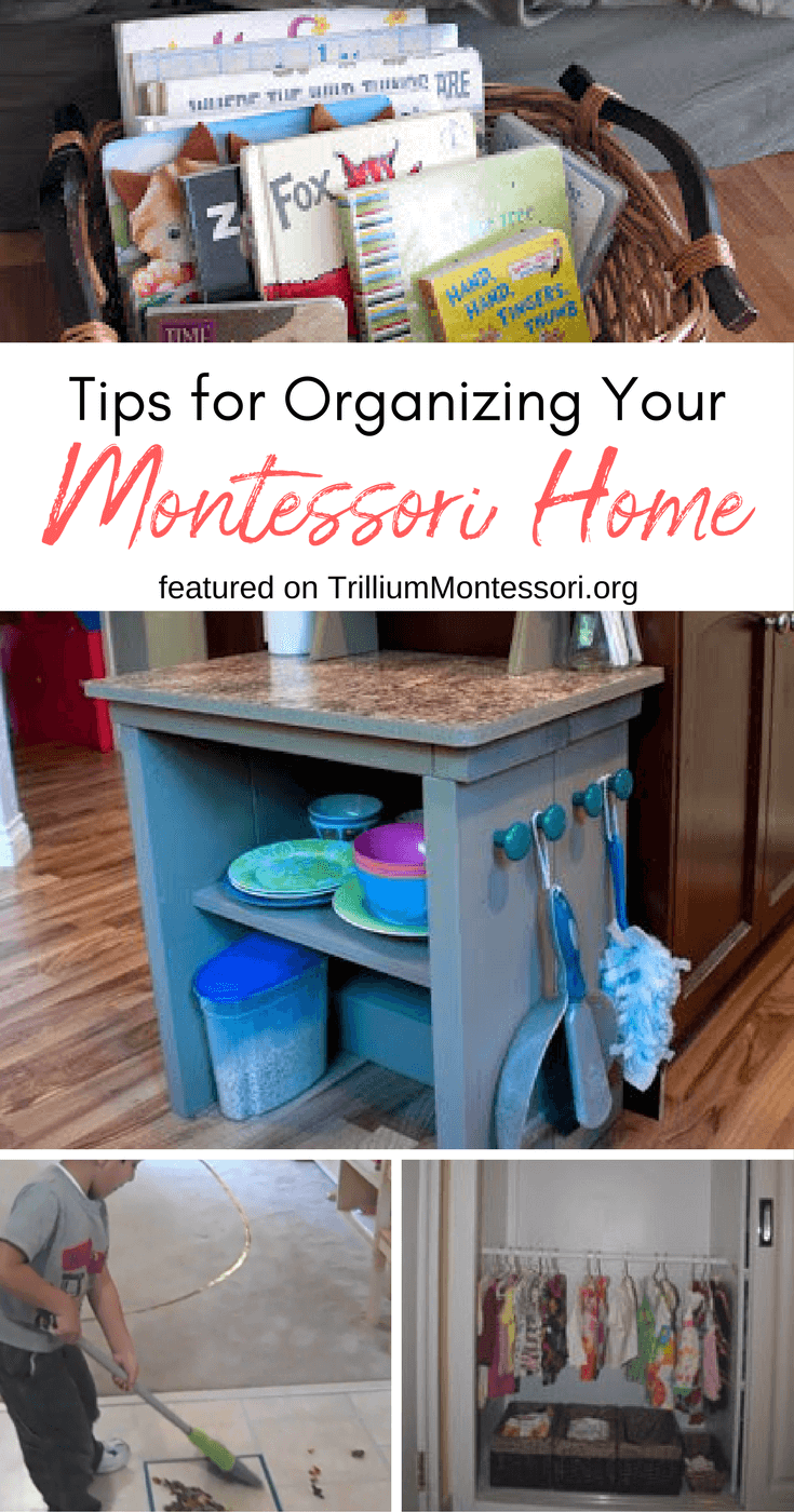Simple tips for organizing your Montessori home