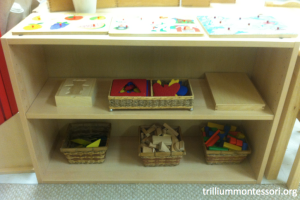 Pre-Montessori Shelf
