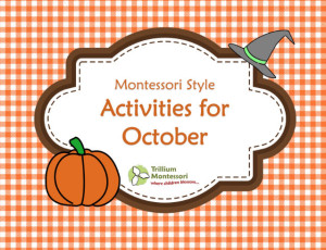Montessori Style Printables for October