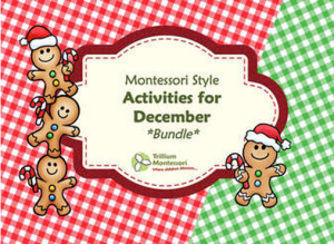 December Activities Bundle Cover