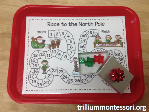 Race to the North Pole Board Game