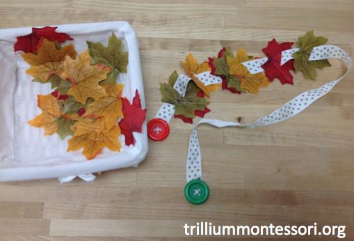 Stringing Leaves