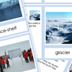 Free Printable Physical Features of Antarctica