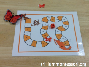 January- Animals in Winter- Monarch Migration Game Board