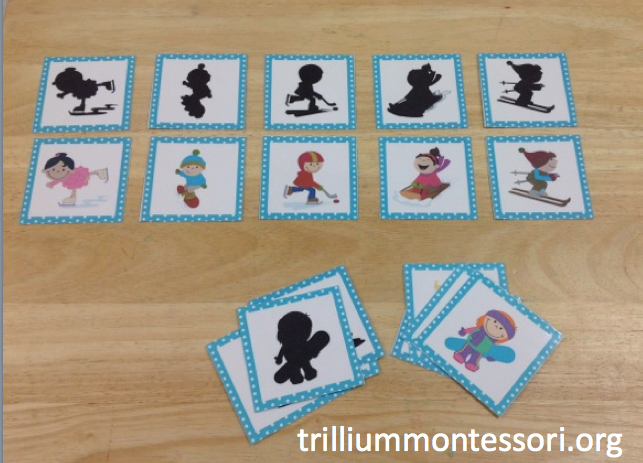 Montessori and Preschool Printables for Winter