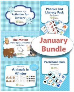 January Printables Bundle
