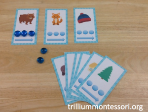 January- The Mitten Phonological Awareness- Point and Slide