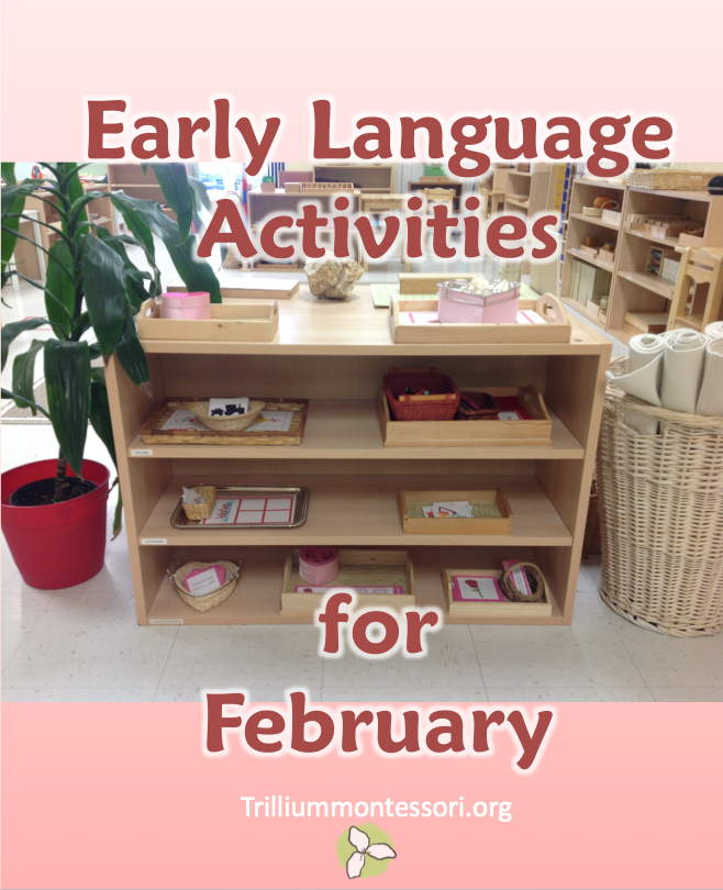 Early Language Activities for February