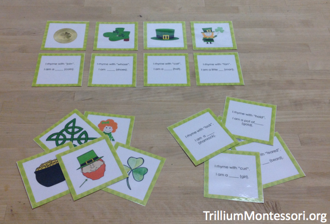 St Patricks Day Phonological Awareness Activity Rhyming Riddles