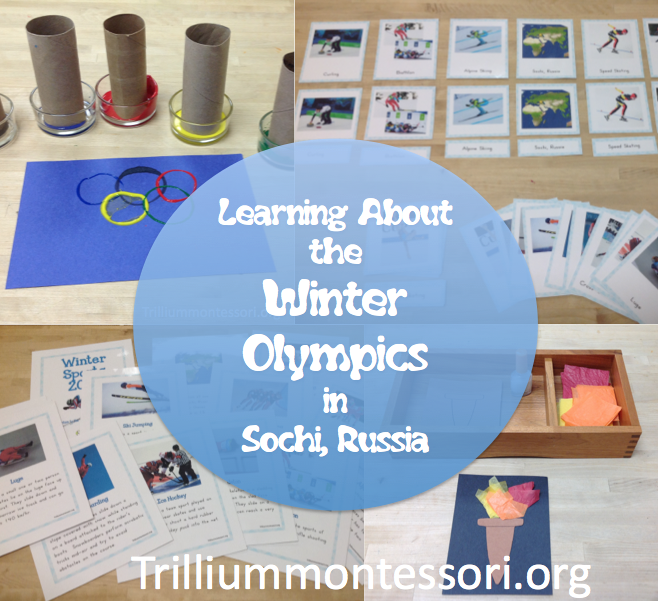 Winter Olympics- Montessori Activities