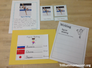 Winter Olympics- Write a Sport Report