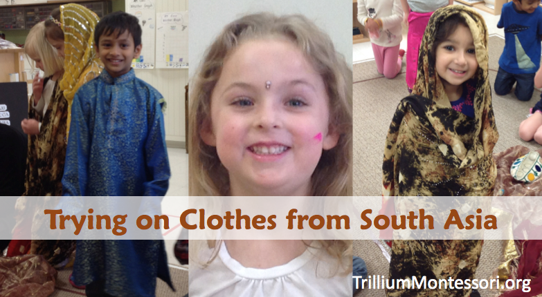 Clothing from South Asia