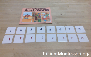 Count Your Way Through the Arab World Arabic Number Matching Cards