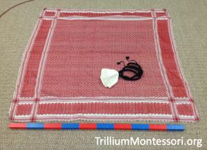 Folding a Guthra or Kufiyeh