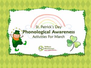 St Patricks Day Phonological Awareness Activities