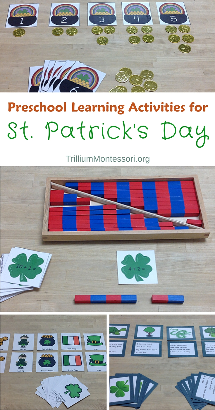 St Patricks Day Preschool Activities Theme
