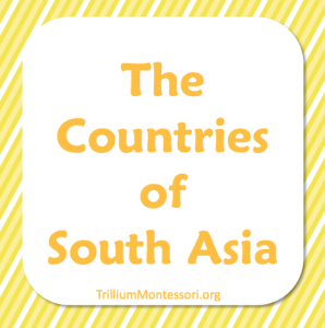 The Countries of South Asia