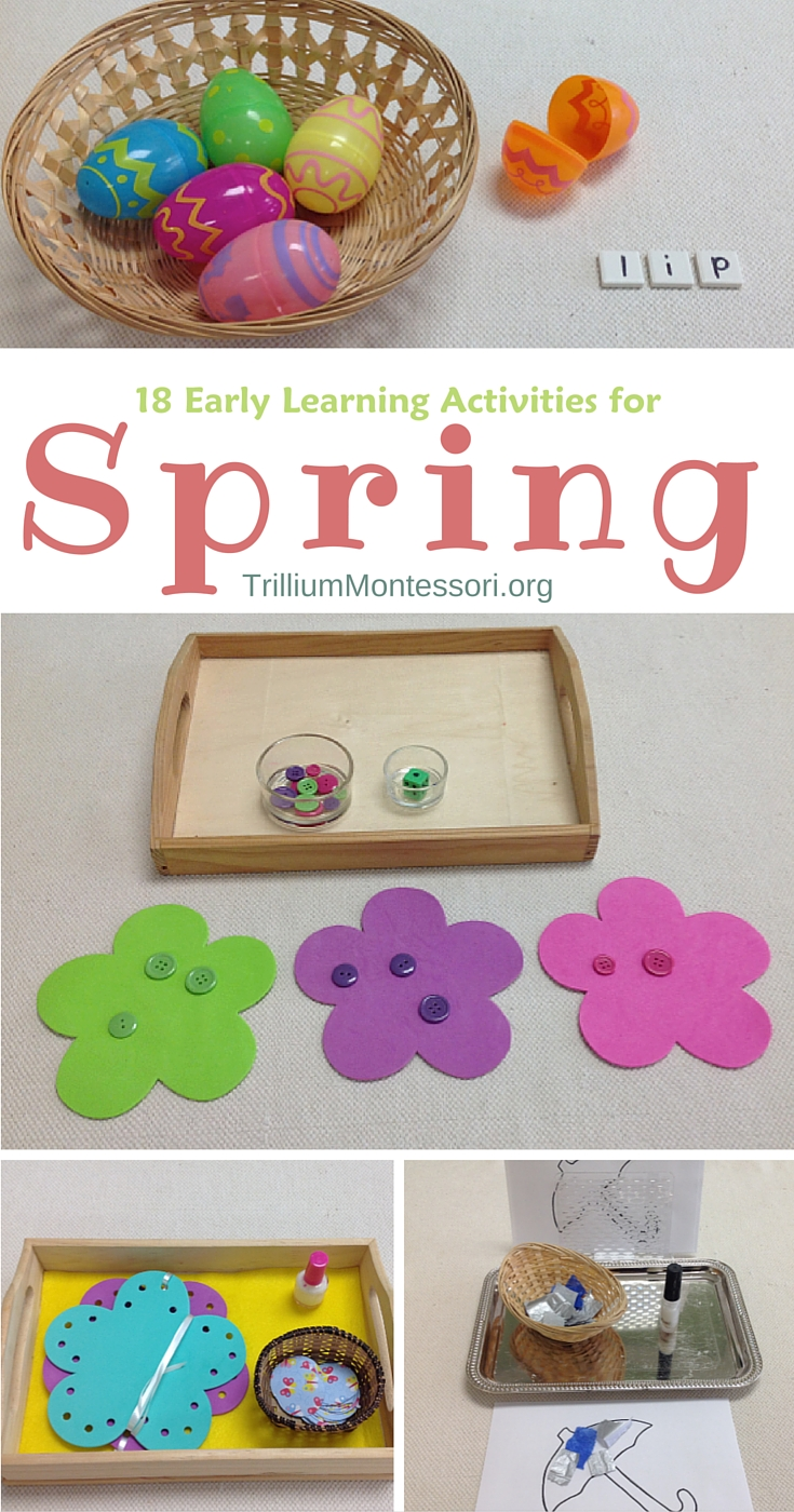 18 Early Learning Activities for Spring