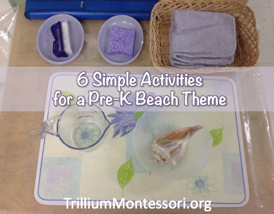 Beach theme activities
