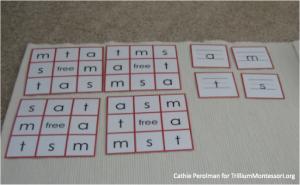 Cathie Perolman Letter Bingo