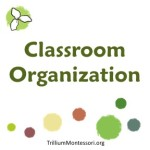Classroom Organization at Trillium Montessori