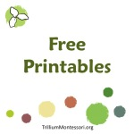 Free Printables from Trillium Montessori