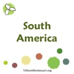 South America  at Trillium Montessori